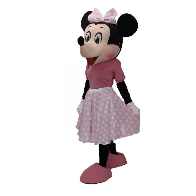 Костюм под наем Мини маус с розова рокля