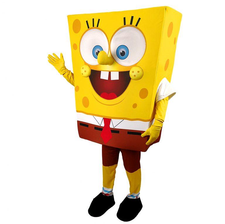 Маскот парти костюм Спондж Боб, Универсален размер