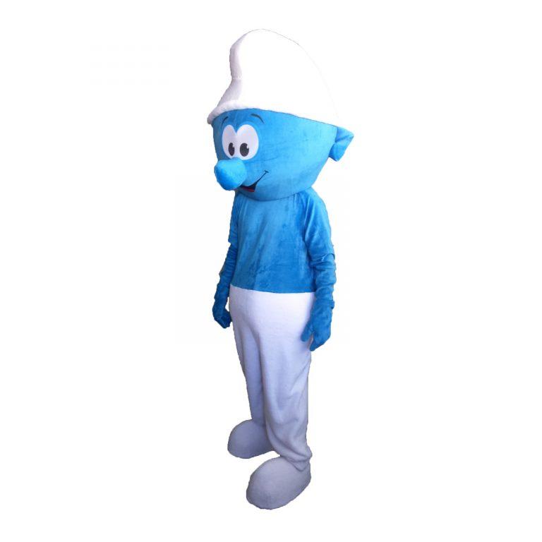 Маскот парти костюм Смърф, Универсален размер