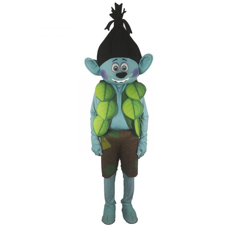 Маскот парти костюм Тролче, Универсален размер