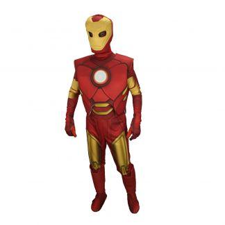 Маскот парти костюм Железният Човек, Универсален размер