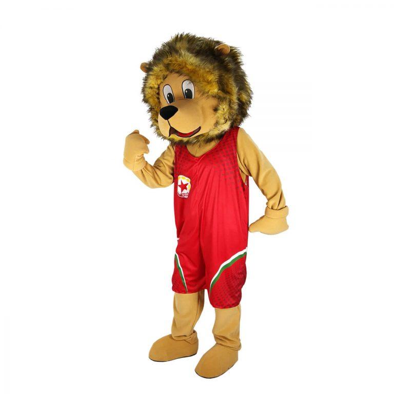 Маскот костюм Лъв