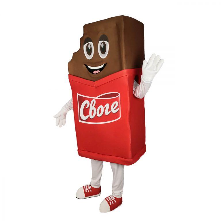 Маскот костюм Шоколад Своге