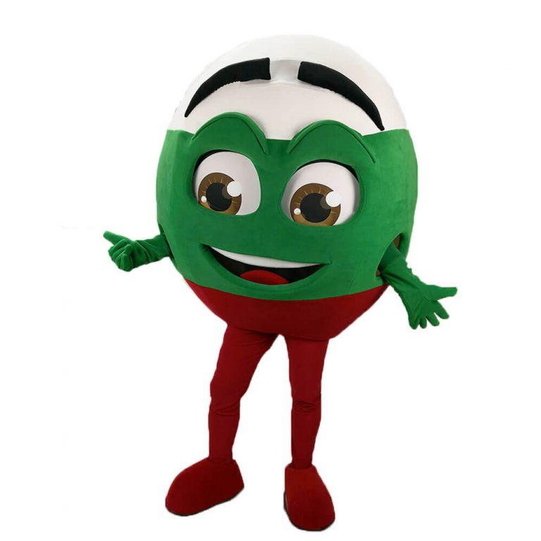 Поръчков маскот костюм Топчо