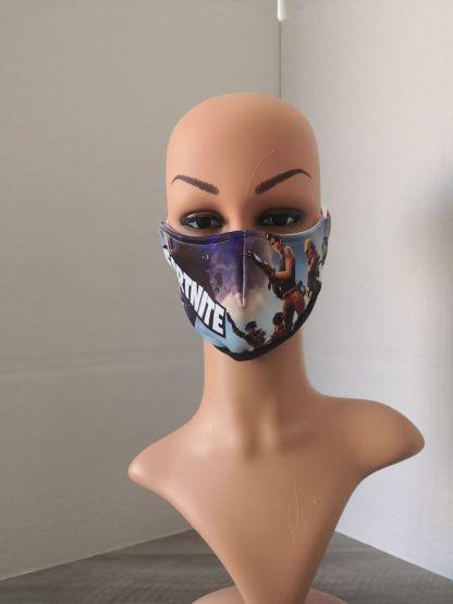 Многократна маска от текстил