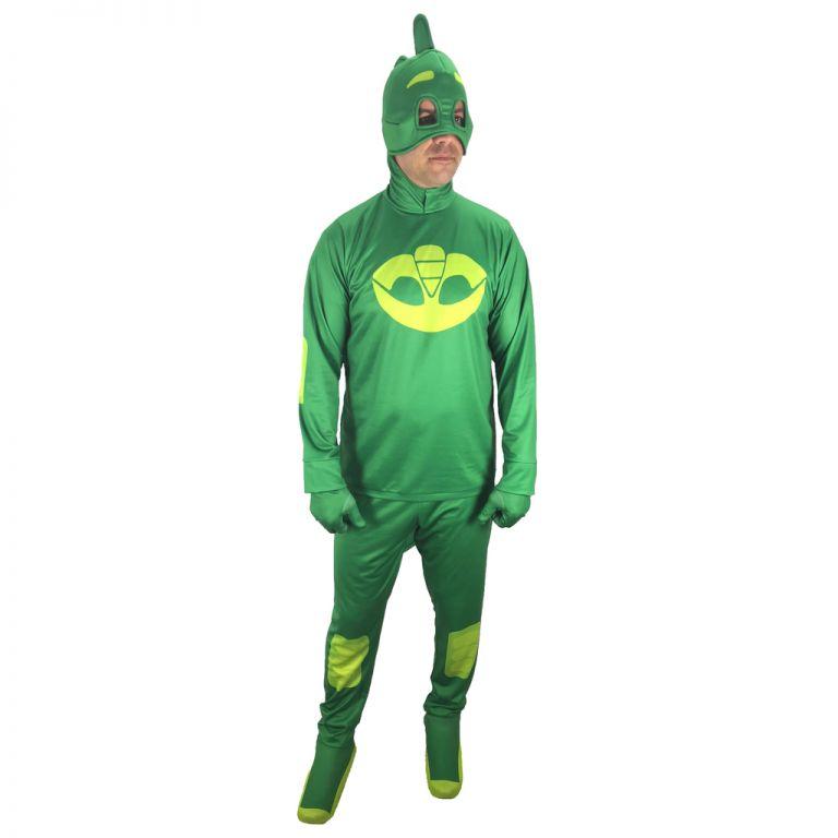 Мъжки парти костюм Пи Джей, Зелен, Универсален размер