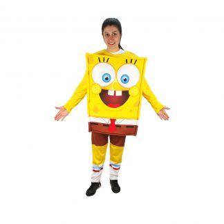 Полумаскот парти костюм Спондж Боб, Универсален размер