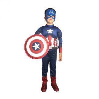 Детски парти костюм Капитан Америка