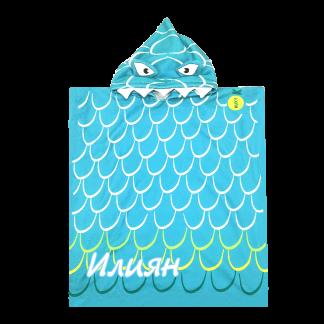 Плажно пончо риба